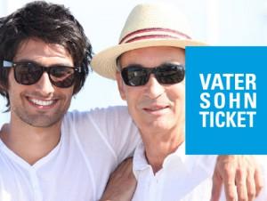 "Unser ""Vater & Sohn""-Ticket zum Spezialpreis"