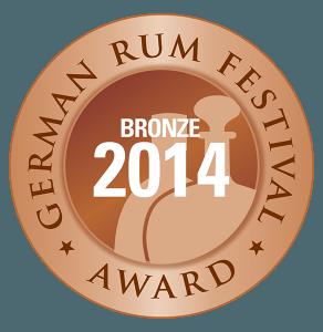 Bronzemedaille 4. German Rum Festival