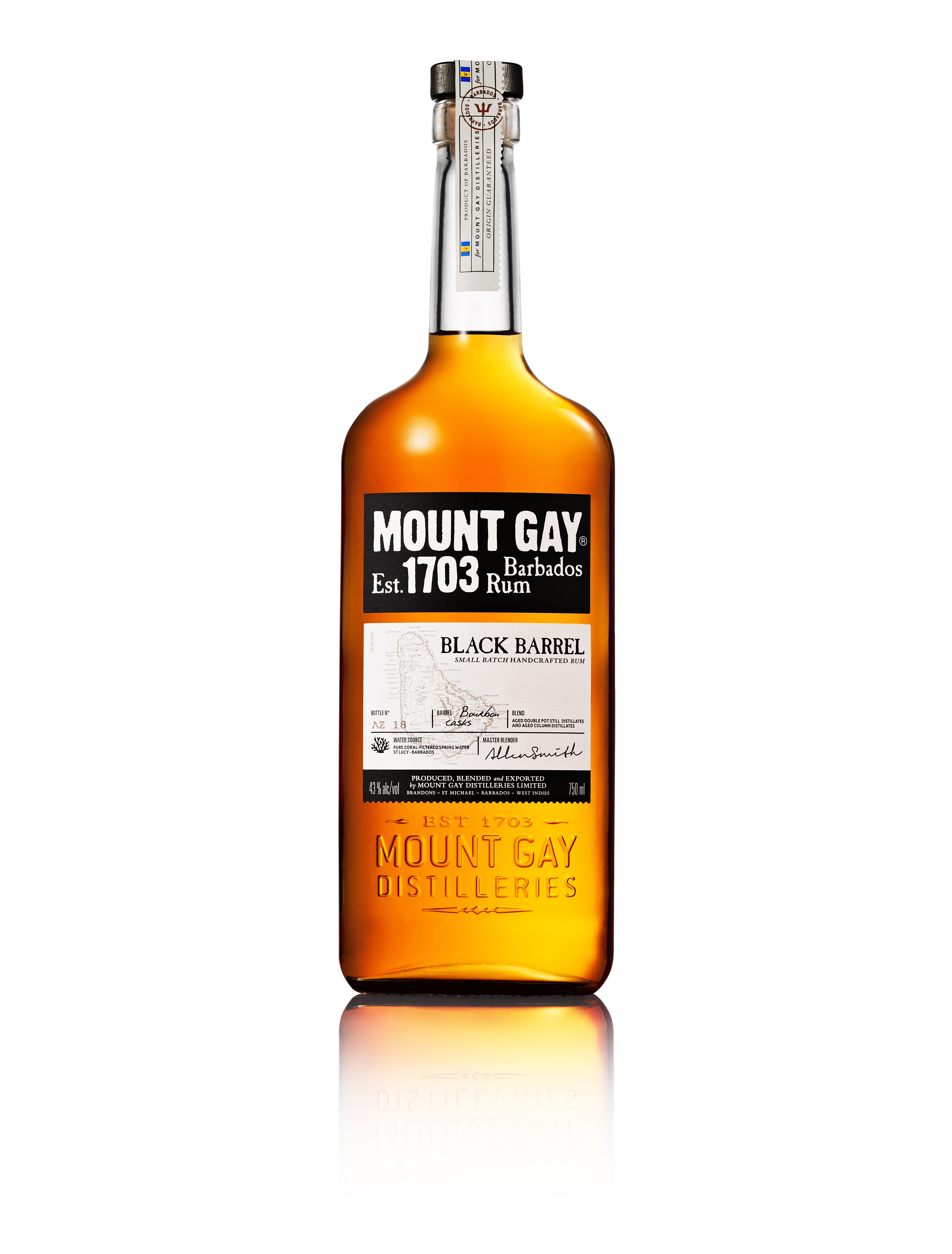 from Reese mount gay rum awards