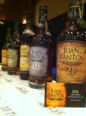 Juan Santos Rum aus Kolumbien