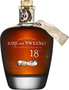 Kirk & Sweeney Dominican Rum 18YO