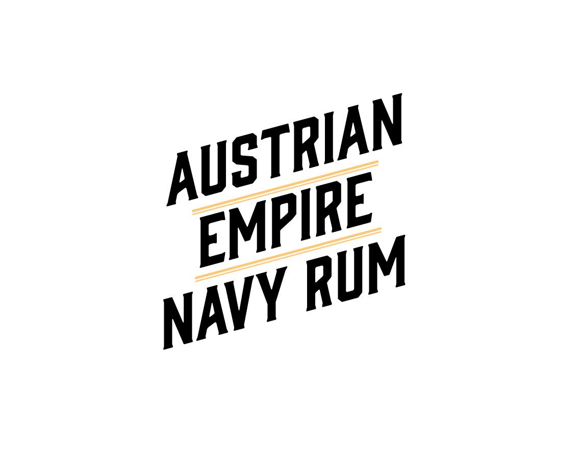 Albert Michler Austrian Empire Navy Rum Reserve 1863