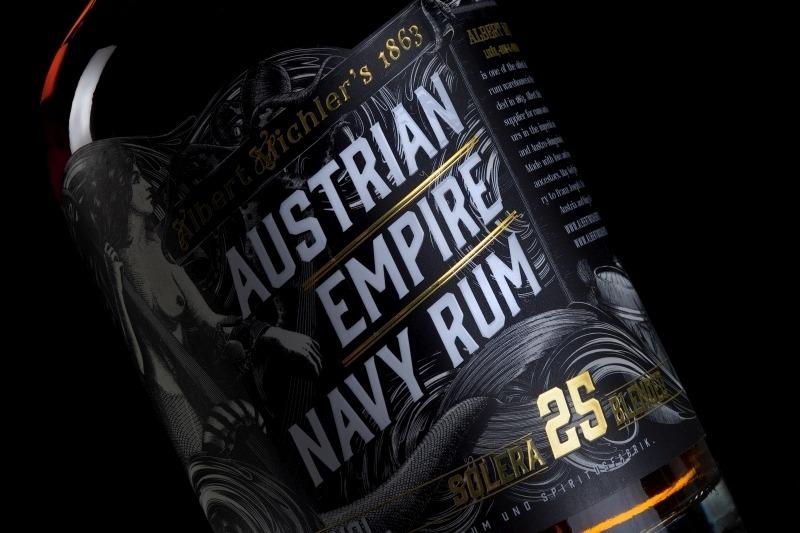 Albert Michler Austrian Empire Navy Rum Reserve 1863 Solera 25