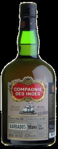 Compagnie des Indes Rum FOURSQUARE Distillery 10YO Cask Strength Rum